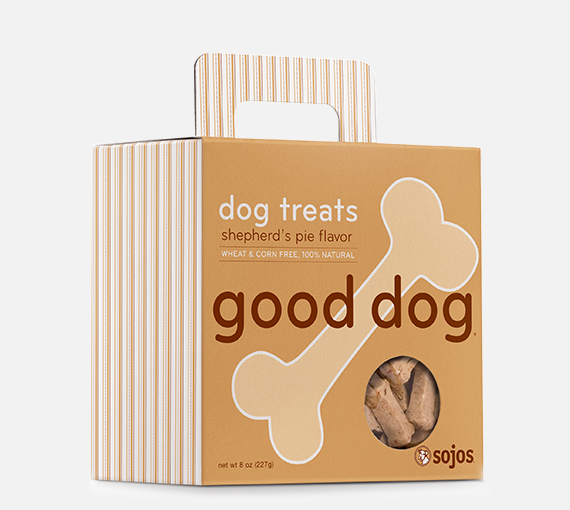 sojos Good Dog Treats Shepherd's Pie 8 oz
