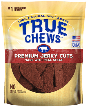 True Chews Premium 100% Jerky Cuts Sirloin Steak