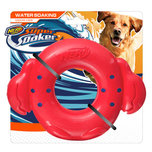 nerf dog super soaker squeak crab