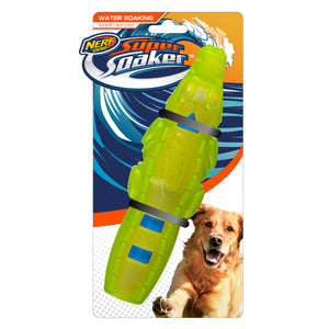 Nerf Dog Super Soaker Squeak Gator Stick