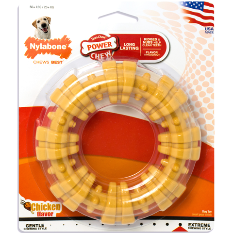 Nylabone DuraChew Power Chew Textured Ring