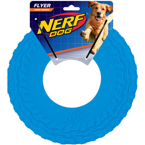 nerf dog tire flyer large