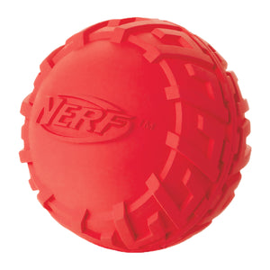 nerf dog tire squeak ball small medium 2.5 3 inch