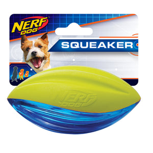 nerf dog tuff foam football small medium
