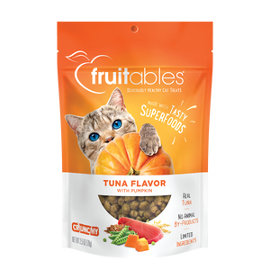 Fruitables Tuna and Pumpkin Cat Treats 2.5 oz