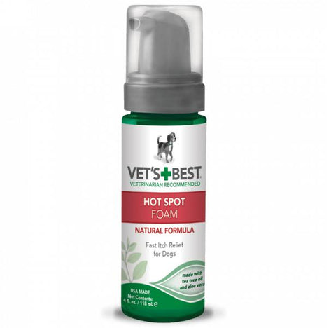 Vet's Best Hot Spot Foam 4 oz