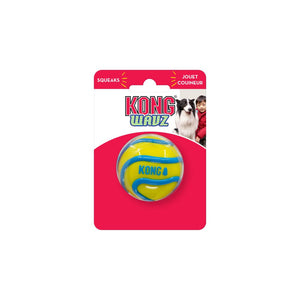 kong wavz ball interactive fetch dog toy