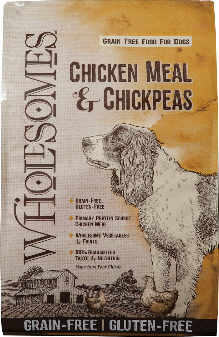 Wholesomes Grain Free Chicken Meal and Chickpea Dog Food