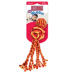 kong wubba weaves with rope toy