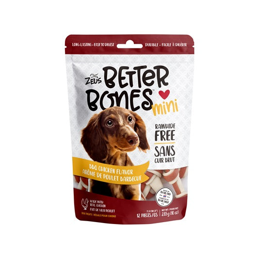Zeus Better Bones BBQ Chicken Mini Bones 12 Pack