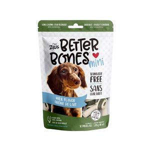 zeus better bones milk rawhide alternative chew 022517927519 92751