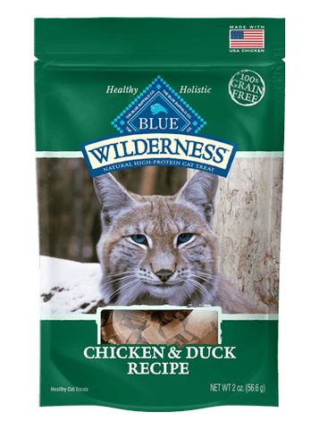 BLUE Wilderness® Chicken & Duck Soft-Moist Cat Treats