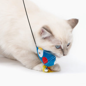 catit cat it pirates parrot teaser wand