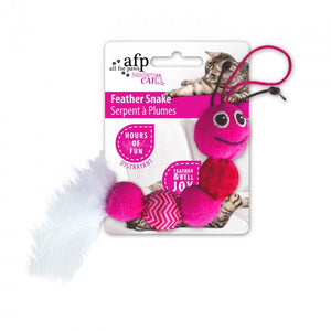 All For Paws Modern Cat Feather Snake