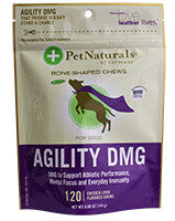 Pet Naturals Agility DMG for Dogs 120 Chews
