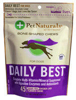 Pet Naturals Daily Best 45 Chews