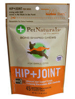 Pet Naturals Hip + Joint Small Dogs 45 Chews