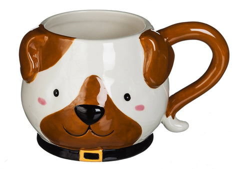 Mug: Dog Figurine