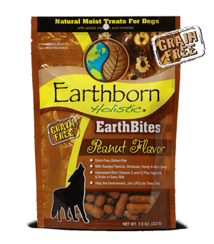 earthborn holistic earth bites earthbites peanut butter dog treat