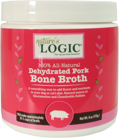 Nature's Logic Dehydrated Pork Bone Broth 6 oz