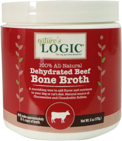 Nature's Logic Dehydrated Beef Bone Broth 6 oz
