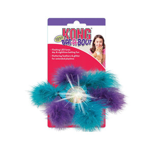 kong bat a bout flicker flurry cat toy
