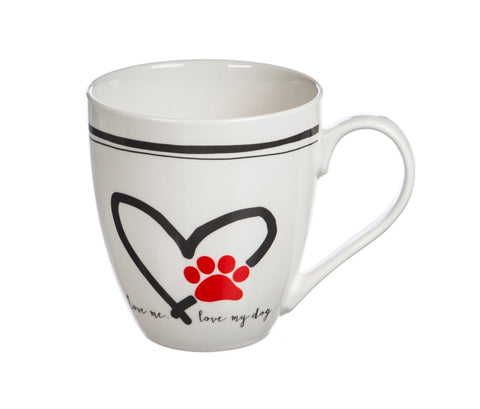 Mug: Love me. Love my dog.