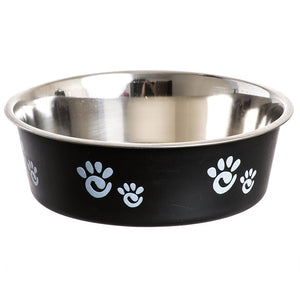 Barcelona Dog Bowl Black