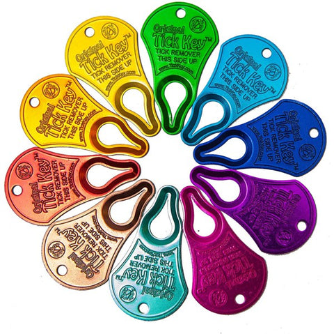 Tick Key: Assorted Colors
