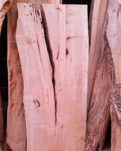 Maple Live Edge Slab, Unfinished, Kiln Dried, SHIPPING NOT INCLUDED