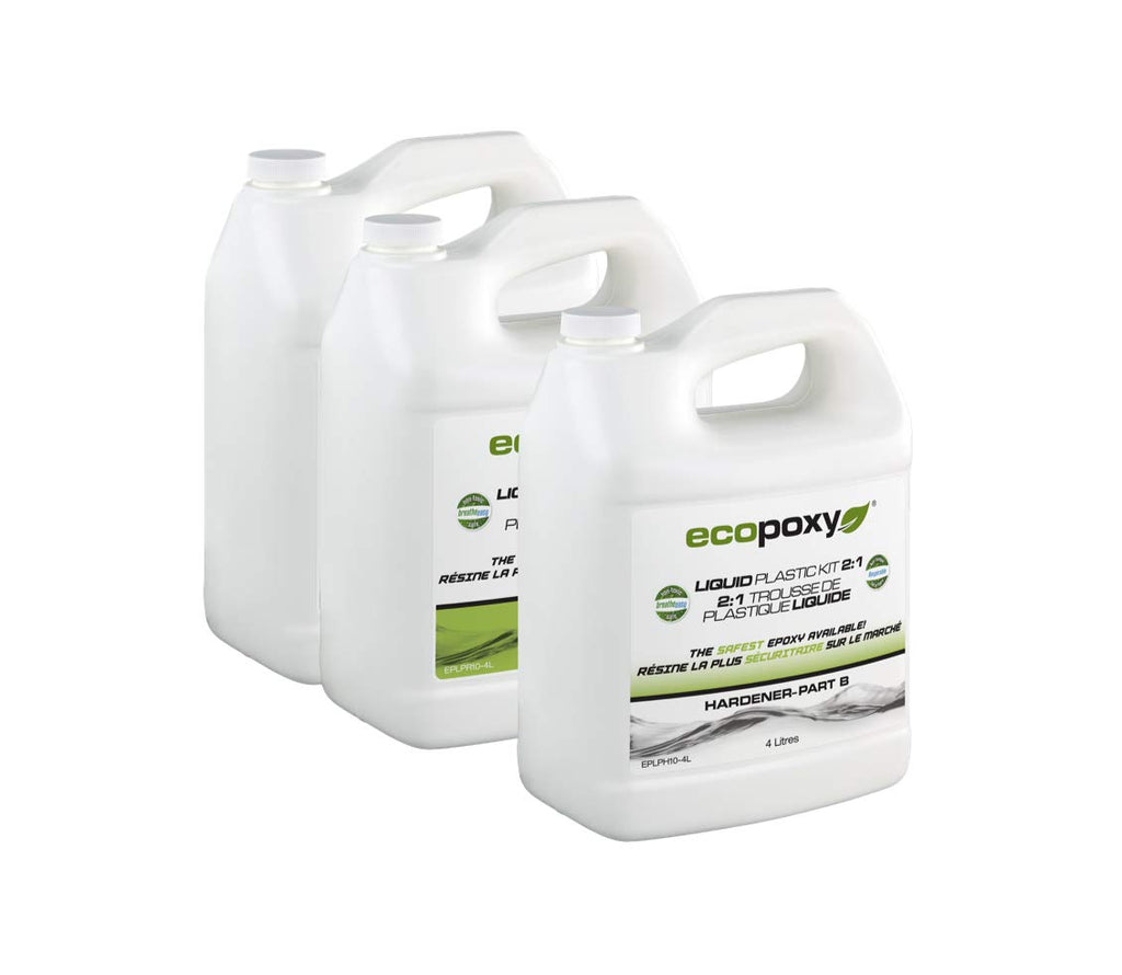 Ecopoxy Liquid Plastic 12L Kit 2:1