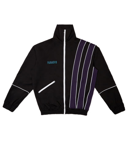 SISHY STRIPES BLACK TRACK JACKET
