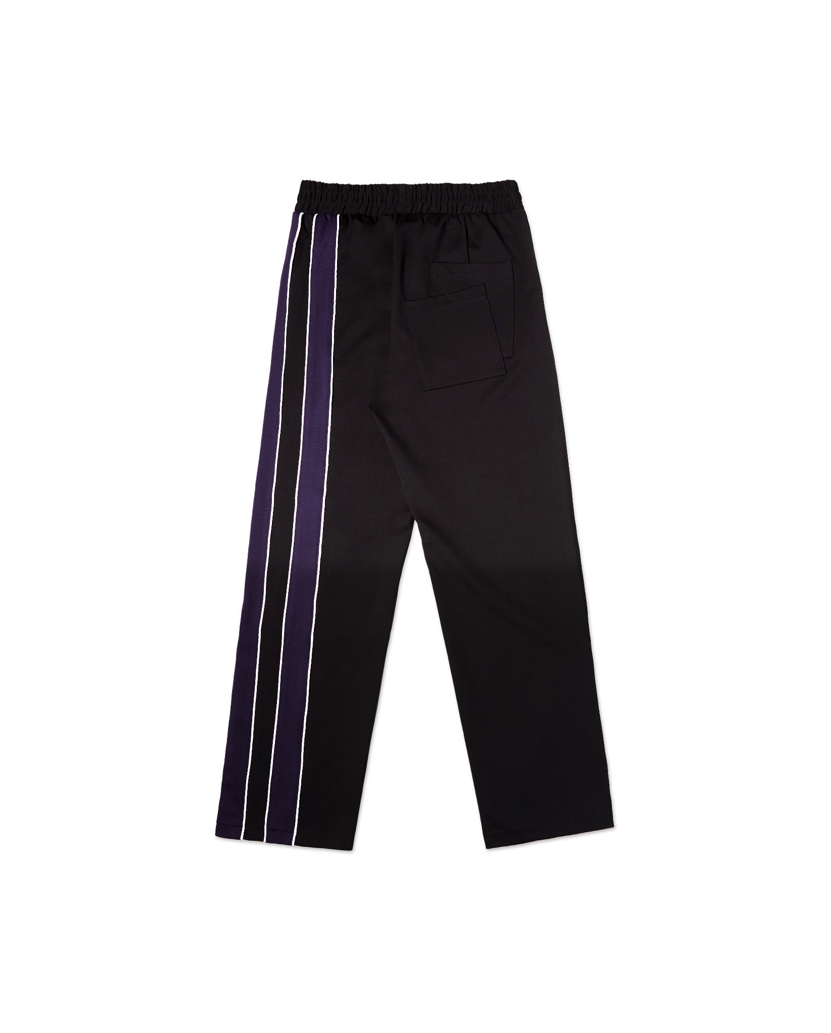 SISHO STRIPES BLACK TRACKPANTS