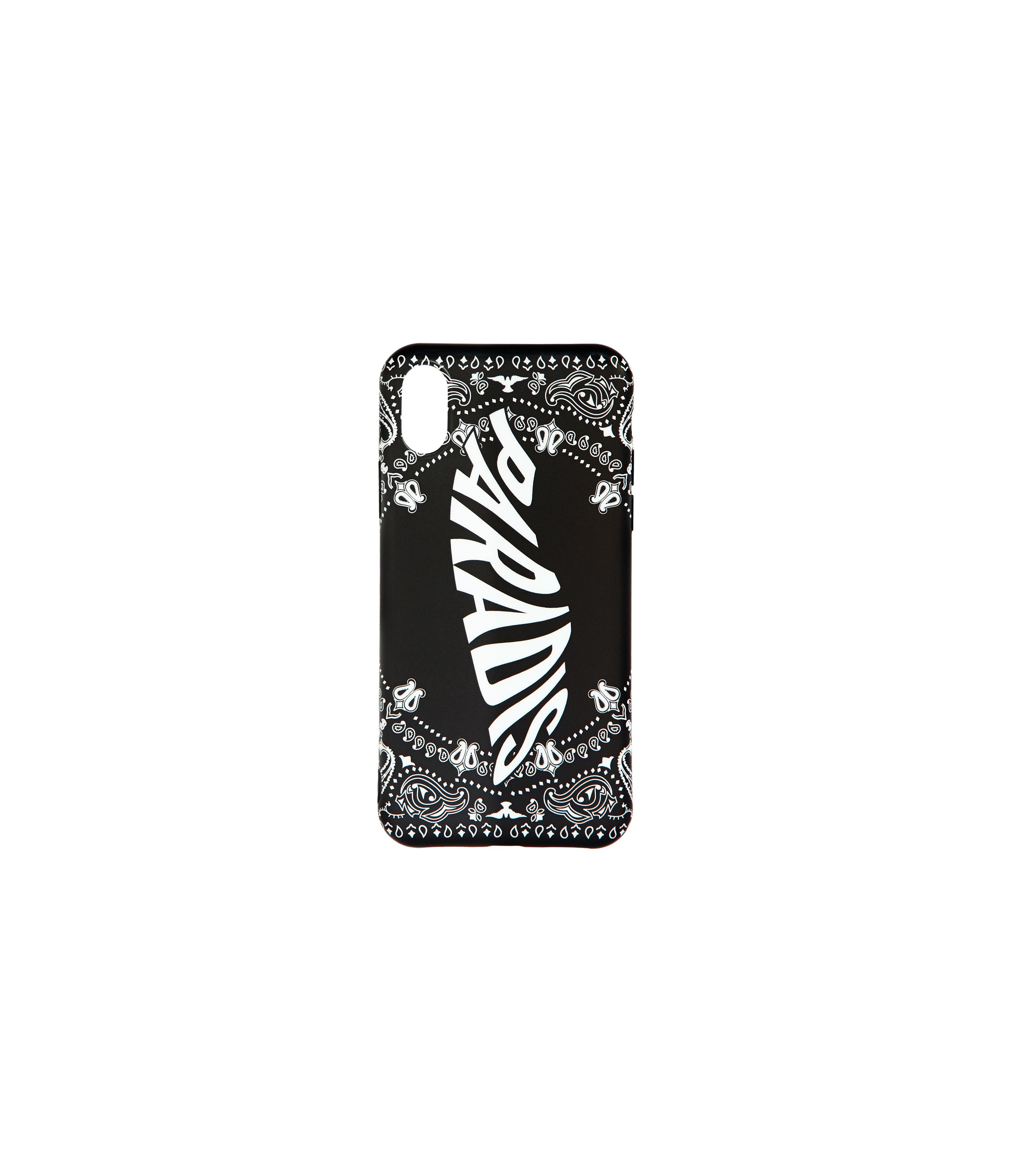 BLACK PAISLEY IPHONE CASE