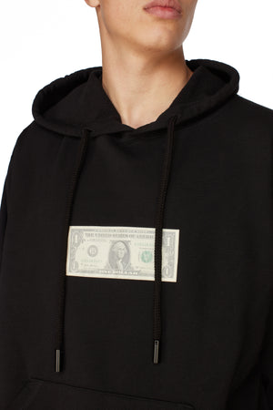 MARIA DOLLAR HOODED SWEATSHIRT