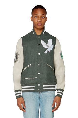 SISHY GREEN TRACK JACKET