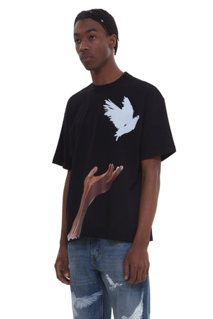 ANA RELEASED BIRD BLACK T-SHIRT
