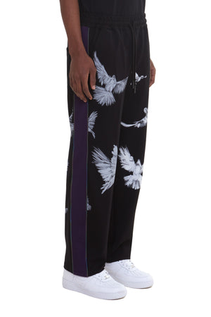 SISHO FLYING BIRDS TRACK PANTS