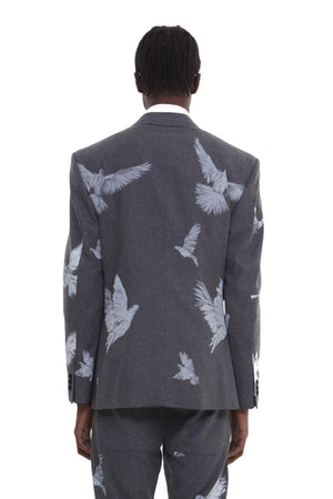 ARSY BIRDS GREY BLAZER
