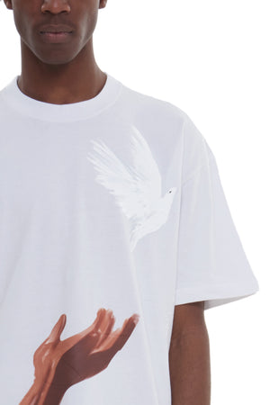 ANA RELEASED BIRD WHITE T-SHIRT