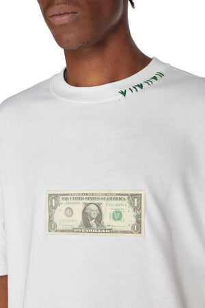 ANA DOLLAR WHITE T-SHIRT