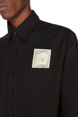 DESIREE DOLLAR BLACK WORKWEAR SHIRT