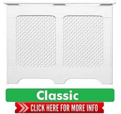 Classic Range White Radiator Covers