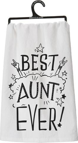 Dish Towel - Best Aunt Ever