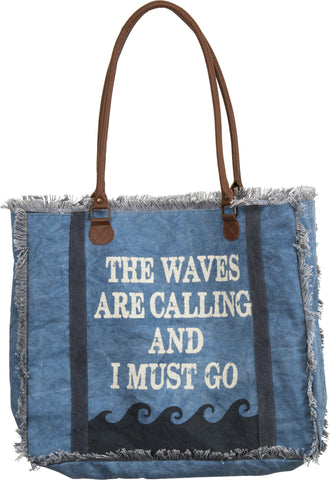 Canvas Bag - The Waves