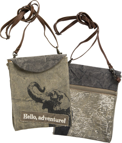 Canvas Bag - Hello, Adventure