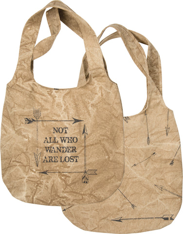 Canvas Tote - All Who Wonder