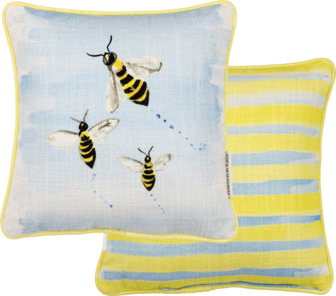 Pillow - Bumble Bees