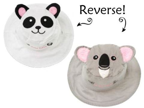 Kids Reversible Hat | Koala | Bear