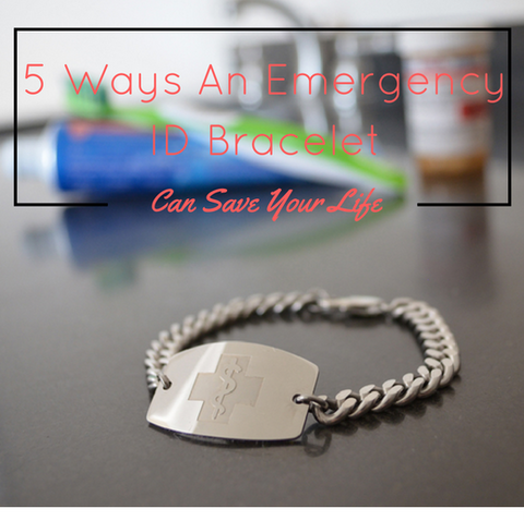 5 Ways An Emergency ID Bracelet Can Save Your Life